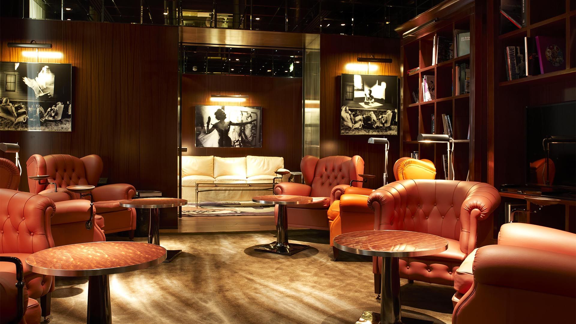 Vi ales lounge private cigar club le royal monceau - Wandfarbe lounge ...